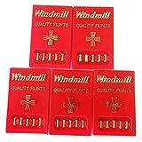 Amazon.co.jpwindmill flints ウインドミル ライター用発火石 x5シートセット