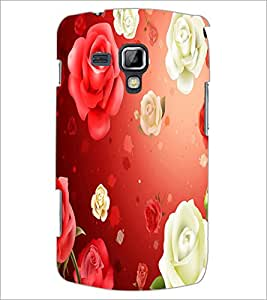 Printdhaba Roses D-2426 Back Case Cover For Samsung Galaxy S Duos S7562
