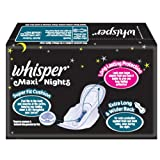 Whisper Maxi Nights - 7 Pads (XL Wings)