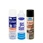 Ultimate Sprayway Cleaning Package -3 Cans & Microfiber Cloth