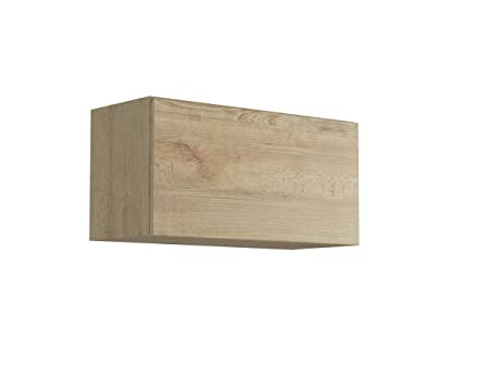 Giessegi Living Elemento Appeso Apertura Vasistas, Legno, Faggio, 40 x 80 x 33.6 cm