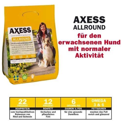 Artikelbild: 14 kg Axess Allround Hundefutter aus Schweden