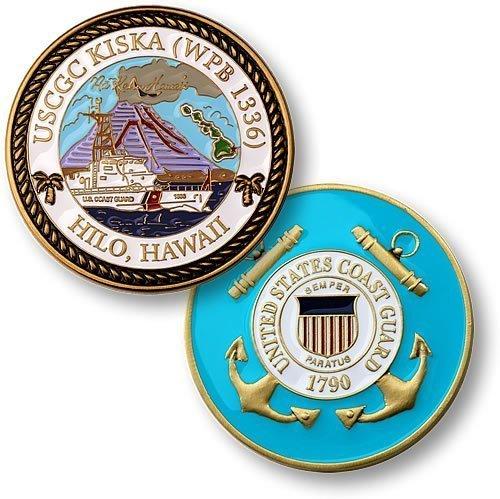 USCGC Kiska (WPB 1336) Challenge Coin
