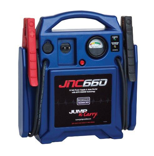 Clore JNC660C 'Jump-N-Carry' 1,700 Peak Amp 12-Volt Jump Starter, CEC Compliant