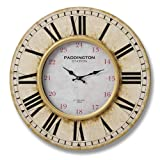 Vintage Style Very Large 'Paddington Station' Wall Clock (6343) 60 cm (24