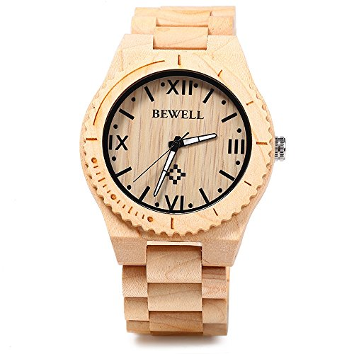 bewell-zs-w065a-wood-men-quartz-watch-roman-numeral-scalesmaple-wood-