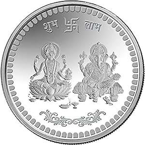Buy Mmtc Pamp 10 Gm Ganesh Lakshmi Ji Silver 999 Coin