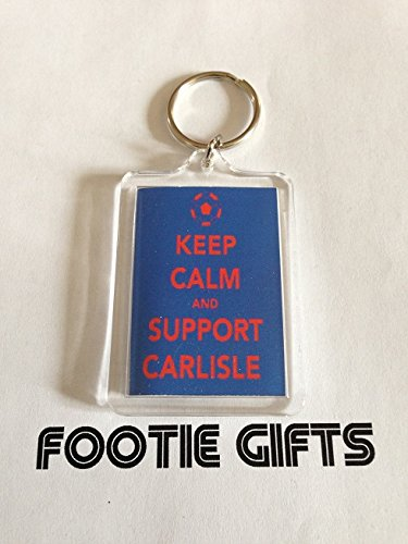Carlisle United F.C - Keep Calm Keyring