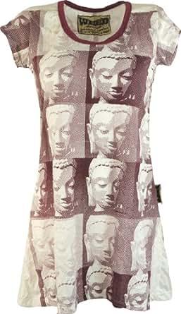 Bien sûr longue chemise blanche Bouddha / Sure - shirts