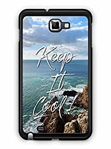 YuBingo Keep It Cool Designer Mobile Case Back Cover for Samsung Galaxy Note 1