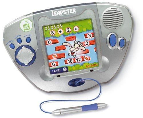 Leapster Leap Frog Multimedia Lernsystem 4-10Jahre mit 3 Spielen Grün Lernspielzeug