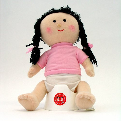 Once Upon A Potty Plush Doll Set With Mini-Potty - Girl