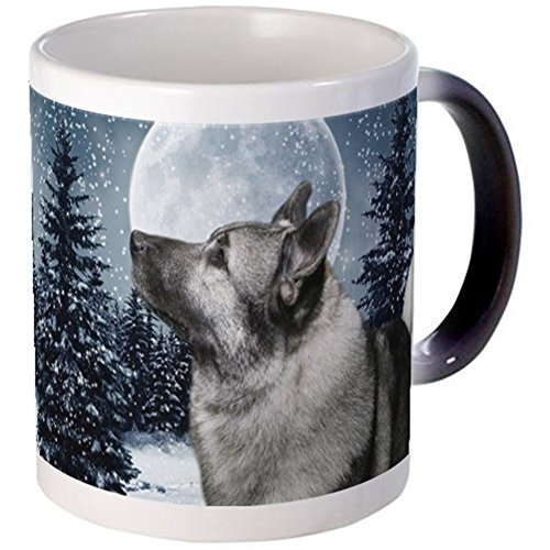 CafePress - Norwegian Elkhound - Unique Coffee Mug, 11oz Coffee Cup (Norwegian Beer compare prices)