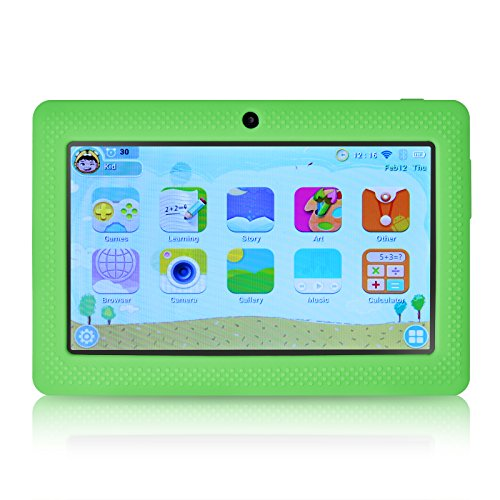 Palmer and Axe 7-Inch LillyPad Jr  Kids Tablet with Exclusive App Suite and  Parental Controls (Green)