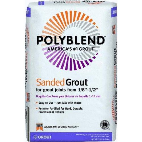 Custom Building Prod. PBG19025 Polyblend Sanded Tile Grout