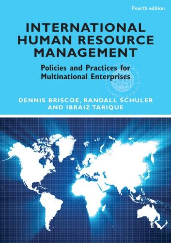 International Human Resource Management: Policies and...