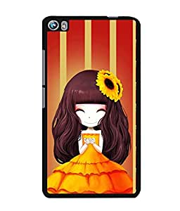 Fuson 2D Printed Girly Designer back case cover for Micromax Canvas Fire 4 A107 - D4345
