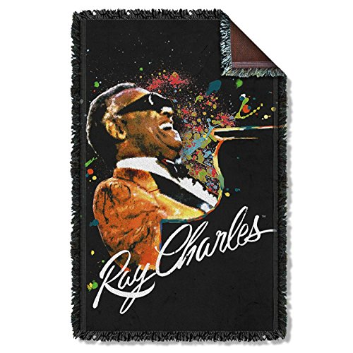 Ray Charles Soul Woven Throw RC111TAP