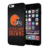 "American Football NFL CLEVELAND BROWNS , Cool iPhone 6 Plus (6+ , 5.5"") Smartphone Case Cover Collector iphone TPU Rubber Case Black"