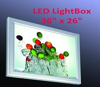 A1 size led slim aluminum frame light box 36 - Lightbox amazon ...