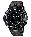 [カシオ]CASIO 腕時計 PROTREK プロトレック PRW-3000-1A オールブラック メンズ [逆輸入モデル]