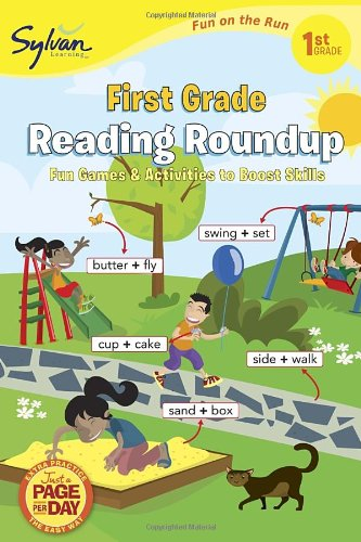 First Grade Reading Roundup (Sylvan Fun on the Run Series) (Fun on the Run Language Arts)