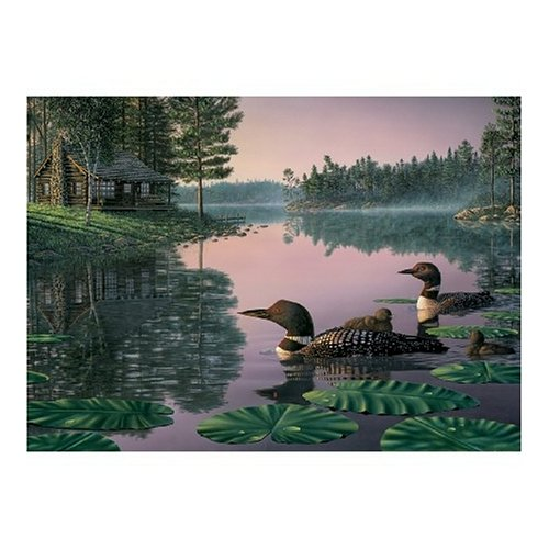 Cheap White Mountain Northern Tranquility Jigsaw Puzzle 550pc (B000BXK0DS)