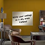FH9999027 White Board 27x40 Vinyl Wall Graphic Decal Sticker