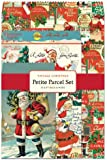 Cavallini Christmas Santa Petite Parcel Set