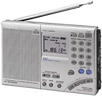 Sony ICF-SW7600GR AM/FM Shortwave World Band Receiver with Single Side Band Reception