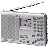 Sony ICF-SW7600GR AM/FM Shortwave World Band Receiver with Single Side Band Reception ~ Sony
