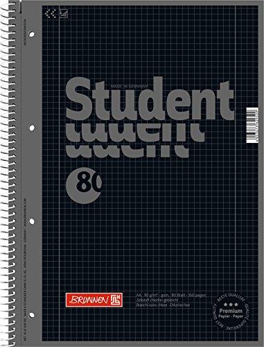 5-collegeblocke-student-a4-colour-code-onyx-kariert-lin-28-80-blatt-90g-m