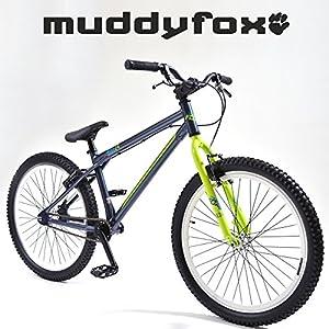 "Muddyfox Rise 24"" BMX Bike - Gents - Blue and Green - New Range."