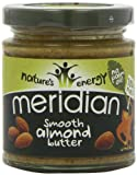 Meridian Smooth Almond Butter 170 g (Pack of 3)