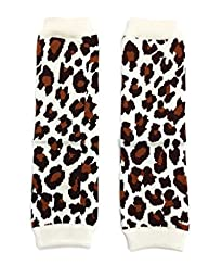 Rush Dance Zoo & Farm Animals Baby/ Toddler Leg Warmers (One Size, Leopard)