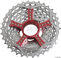 SRAM cassette PG-990 11-32 teeth 9 speed (Color: red)
