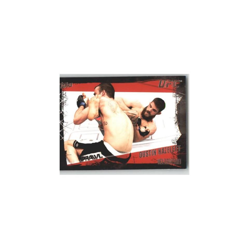 2010 Topps UFC Trading Card # 93 Dustin Hazelett (Ultimate Fighting Championship) Shipped in Screwdown Case