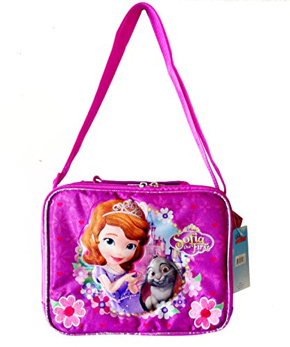 Disney Princess Sofia the First Insulated Lunch Bag Box Kit - 1