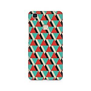 Ebby Tio Triangle Premium Printed Case For Vivo V3 Max