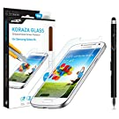 Samsung Galaxy S4 Screen Protector Tempered Glass Sentey® Koraza 9h 0.33mm Ls-11204 Bundle with Free Metal Stylus Touch Screen Pen {Lifetime Warranty}