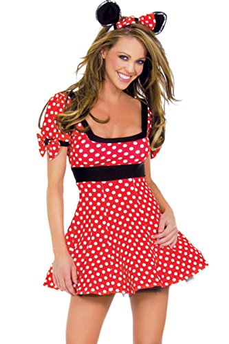 J. Valentine Women's Sexy Mouse Mini Dress
