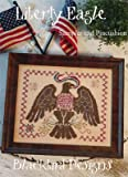 img - for Liberty Eagle Cross Stitch Chart book / textbook / text book