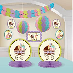 modern mommy room decorating kit baby shower giraffe
