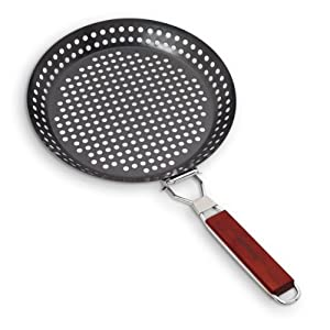 Farberware BBQ 11-Inch Non Stick Skillet with Folding Handle