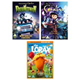 Coraline/Dr. Seuss' The Lorax/ParaNorman (Exclusive to Amazon.co.uk) [DVD]