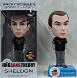 Funko Big Bang Theory Sheldon Superman Shirt Wacky Wobbler 2012 Comic Con Exclusive