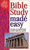 echange, troc  - Bible Study Made Easy: An Easy-to-Understand Pocket Reference Guide