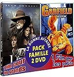 echange, troc La ligue des gentlemen extraordinaires / Garfield - Bi-pack 2 DVD
