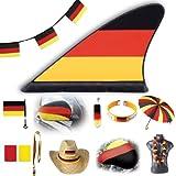 WM / EM Fanartikel Deutschland Sortiment in großer Auswahl (10x Blütenkette)