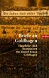 Briefe an Goldhagen. btb Bd.75538 (3442755387) by Daniel J. Goldhagen